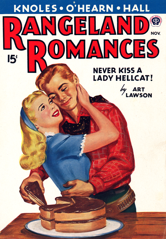 Never Kiss a Lady Hellcat! by Art Lawson